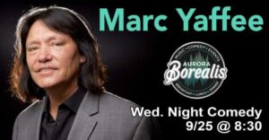 Marc Yaffee. Comedy Club Night Near Me Shoreline, WA