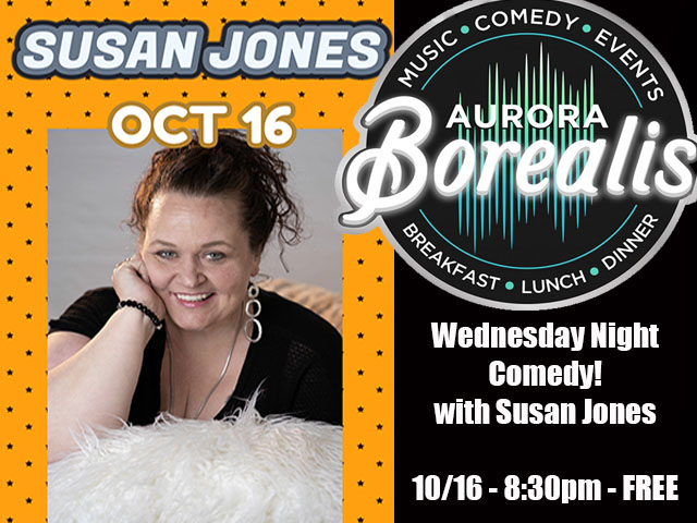 Wednesday Night Comedy with Susan Jones