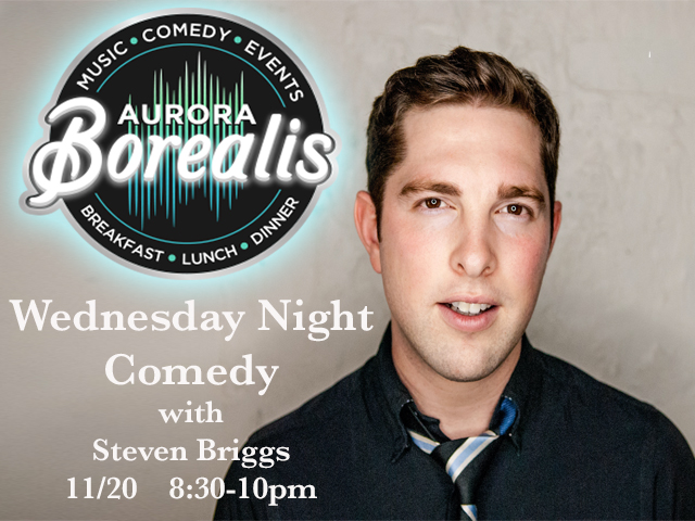 Wednesday Night Comedy with Steven Briggs