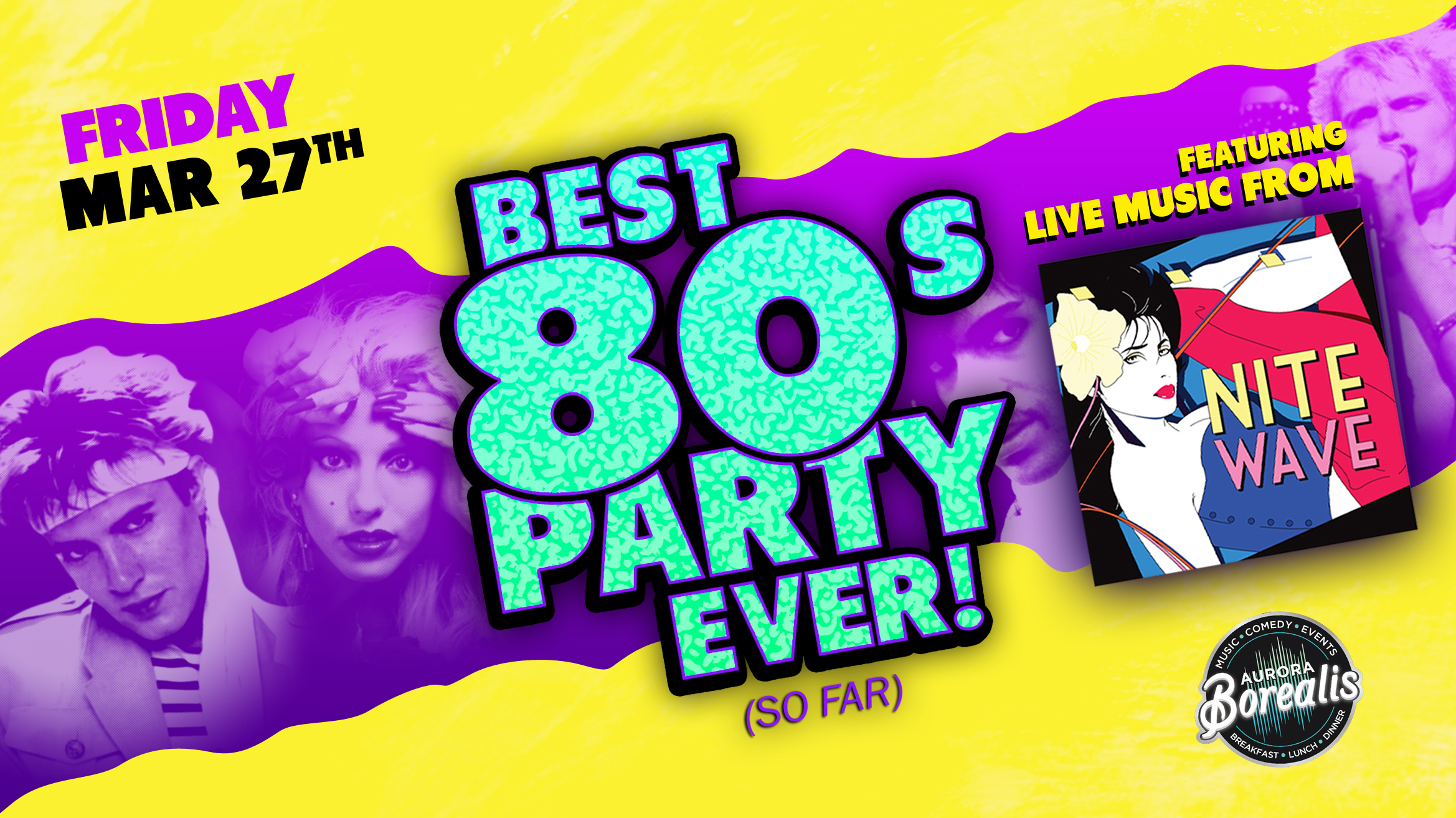 The Best 80's Party Ever! (so far) with Nite Wave