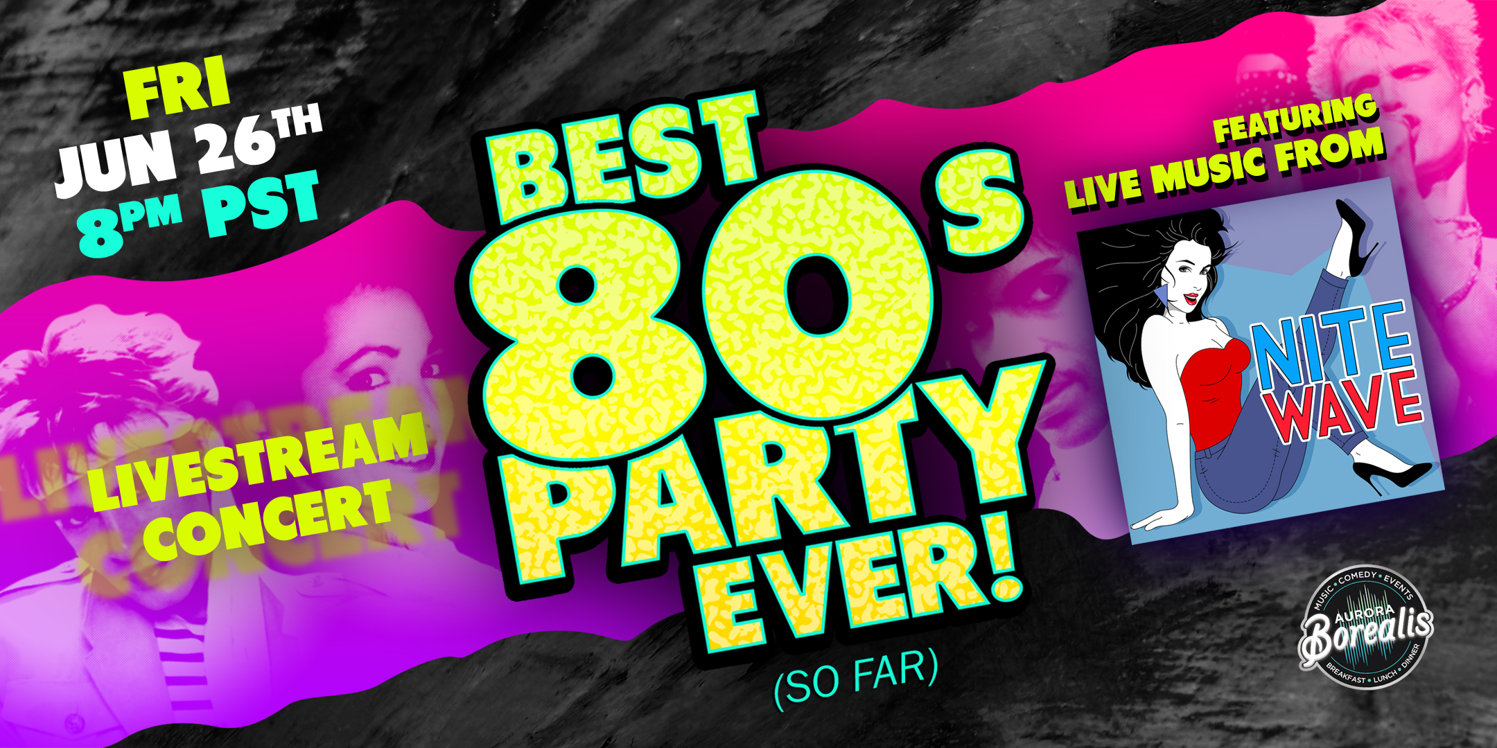 The Best Virtual 80's Party Ever! (so far) with Nite Wave