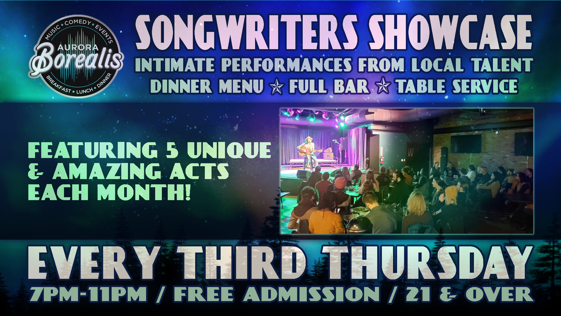 Songwriters Showcase: Intimate performances from local artists