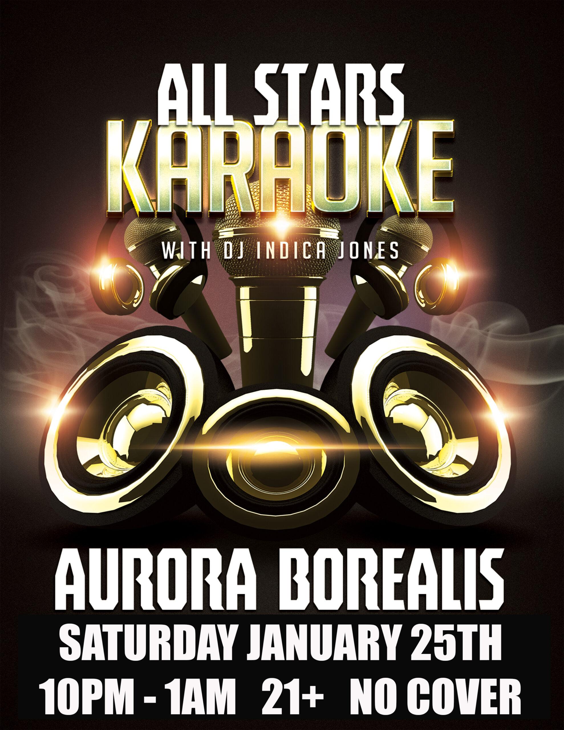 Premiere Event: All Stars Karaoke! DJ + Karaoke Dance Party
