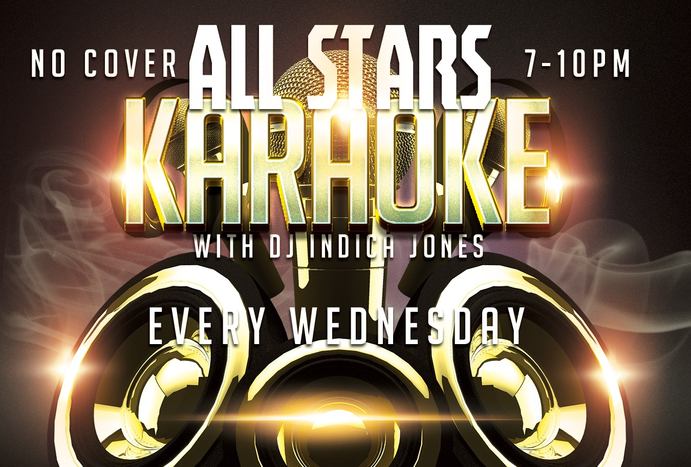 All Stars Karaoke with DJ Indica Jones