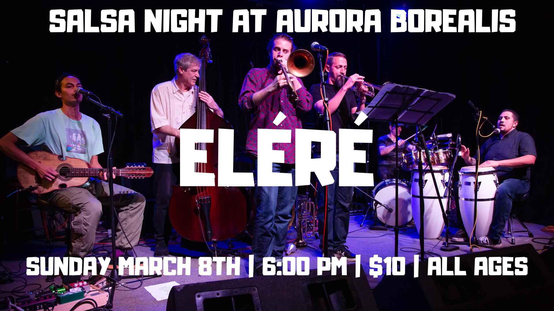 Salsa Night with Eléré Latin Jazz