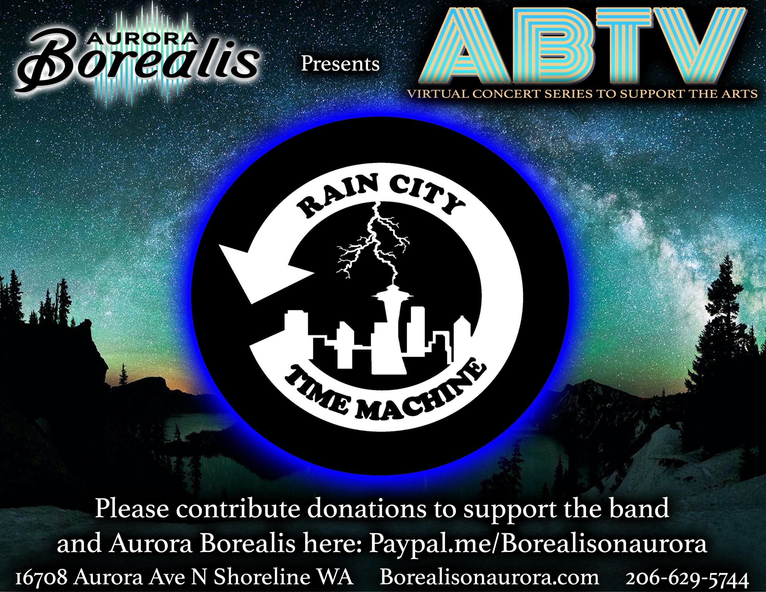 Rain City Time Machine – Virtual Concert